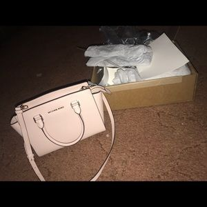 MK selma medium satchel bag. (no longer made)